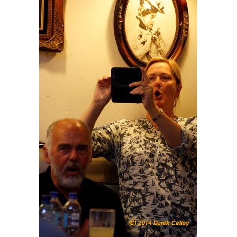 Derek Gifford and Janet Hale
