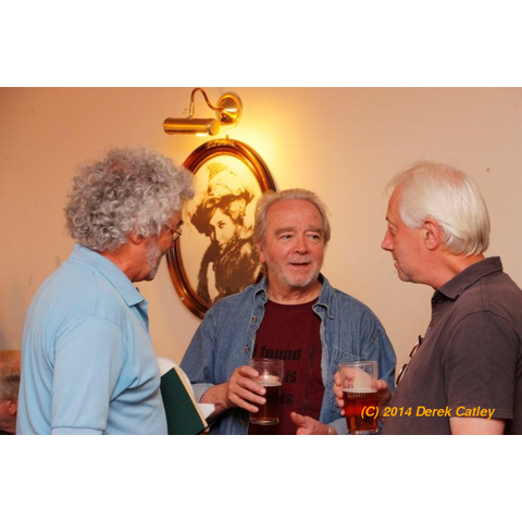 Mike Frost, John Percy and Dave Clarke