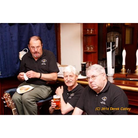 Alan Franklin, John Goss and Alan Tumber