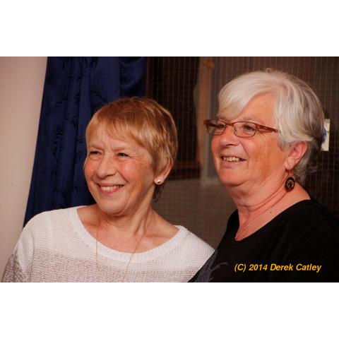 Sue Percy and Lin Bramich